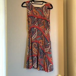 Free People colorful sundress